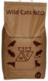 WILD CATS NEO  / ВАИЛД КЭТС НЕО ( ВИЛД КЭТС) Наполнитель впитывающий бумажный ( Бирюзовый) для КОТЯТ, ПТИЦ и ГРЫЗУНОВ