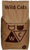 WILD CATS / ВАИЛД КЭТС ( ВИЛД КЭТС) Наполнитель впитывающий бумажный для КОТЯТ И ВЗРОСЛЫХ КОШЕК (Серый)