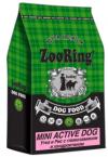 ZOORING Mini Active Dog Duck  / ЗооРинг сухой корм  для взрослых собак Мелких пород УТКА / РИС